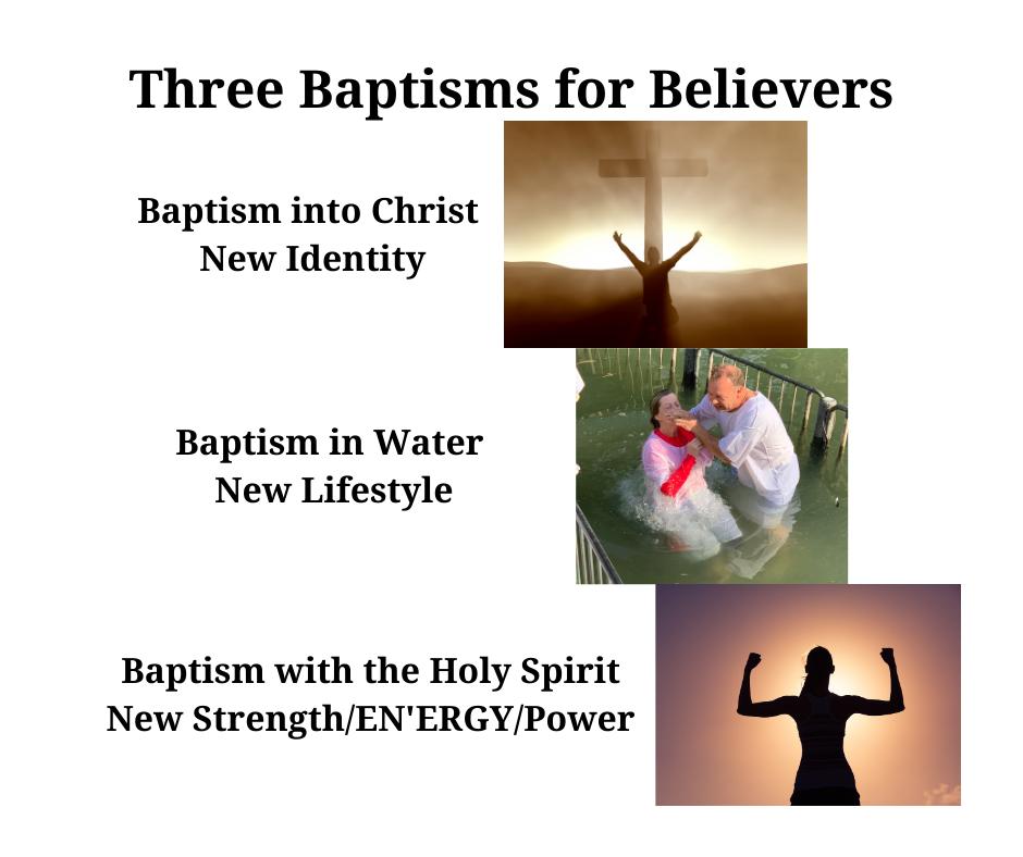 three types of baptism