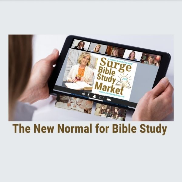 The New Normal for Bible Study